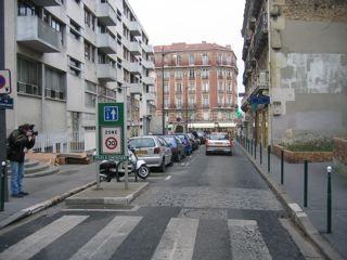 zone de rencontre et stationnement