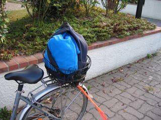 panier arrière vélo